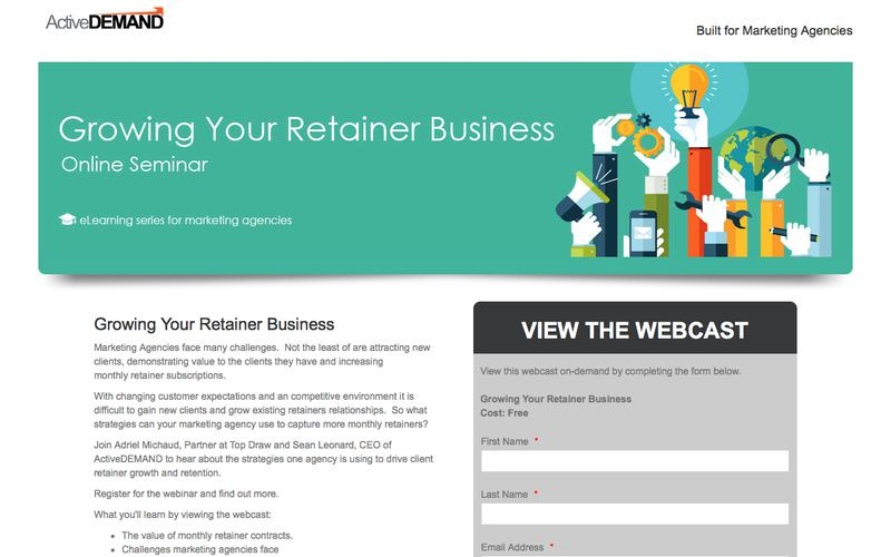 Growing Your Retainer Business