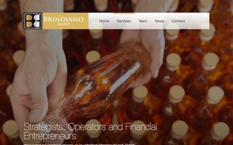 Screenshot of Services Page brindiamogroup.com - Business Services | Brindiamo Group - captured Sept. 30, 2014