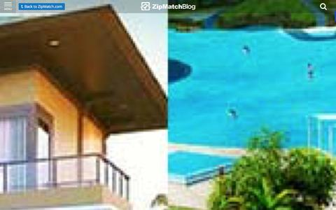 Screenshot of Blog zipmatch.com - ZipMatch Blog: Latest in the Philippine Real Estate Market - captured Jan. 8, 2016
