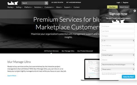 Premium Services | blur Group