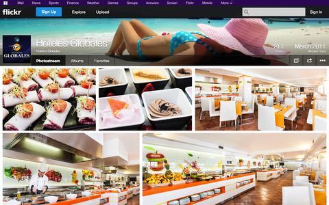 Screenshot of Flickr Page flickr.com - Flickr: Hoteles Globales' Photostream - captured Oct. 26, 2014