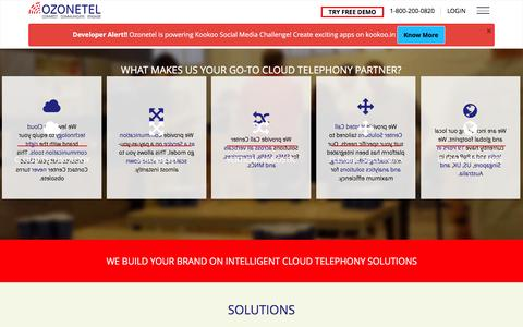 Cloud Telephony-Cloud Call center solutions,Hosted Call Center solutions