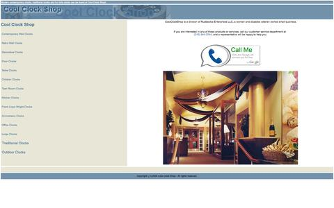 Screenshot of About Page coolclockshop.com - Please Log In - captured Oct. 3, 2014
