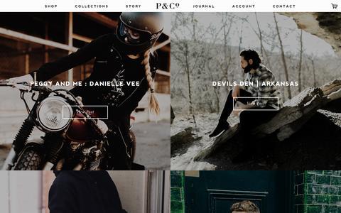 Screenshot of Press Page pand.co - Blog – P&Co - captured Jan. 24, 2016