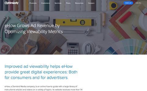 eHow Grows Ad Revenue by Optimizing Viewability Metrics