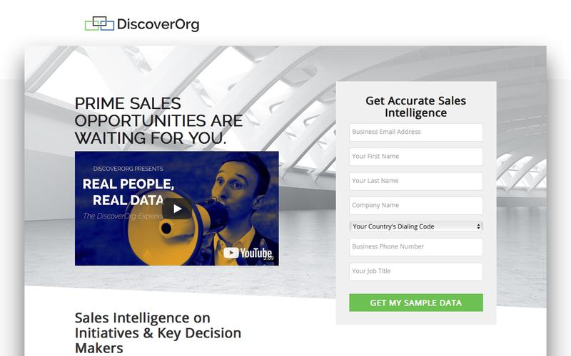 Prime Sales Opportunities are Waiting For You | DiscoverOrg