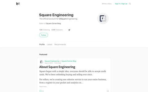 Square Engineering – Medium