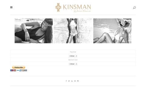 Screenshot of Signup Page kinsmanswim.com - Bikini of the Month Club - Kinsman Swim - captured Aug. 9, 2016
