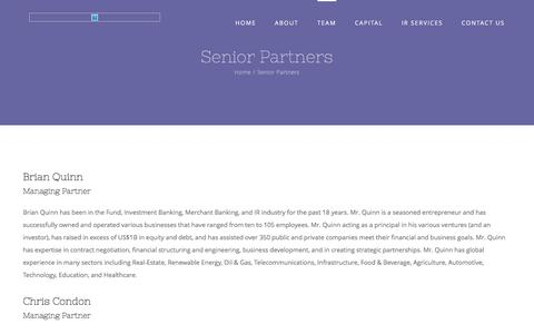 Screenshot of Team Page netgain-financial.com - Senior Partners – Netgain Financial - captured June 12, 2017