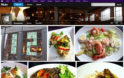 Screenshot of Flickr Page flickr.com - Flickr: PacificGrill's Photostream - captured Oct. 22, 2014