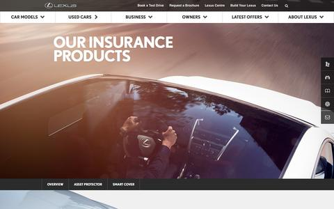 Lexus Insurance | Lexus UK