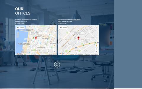 Screenshot of Maps & Directions Page c2c-outdoor.com - c2coutdoor | MAP - captured May 13, 2017