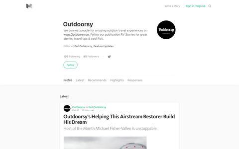 Outdoorsy – Medium