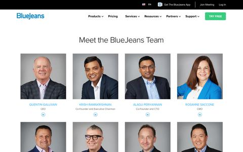 Meet the BlueJeans Team