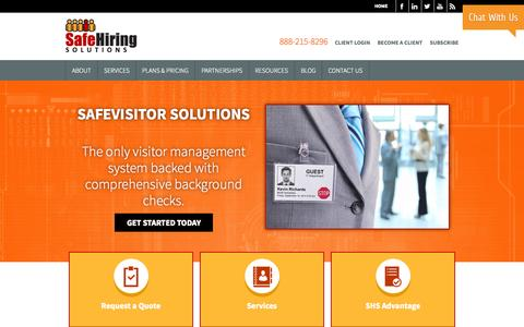 Online Background Checks | Safe Hiring Solutions Safe Hiring Solutions