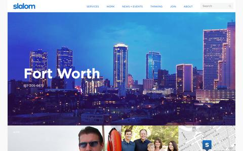Fort Worth | Slalom