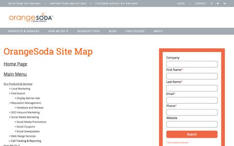 Site Map | OrangeSoda