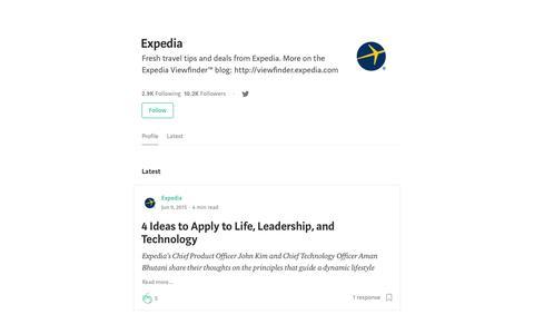 Expedia – Medium
