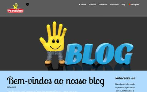 Screenshot of Blog practiline.pt - Blog - captured Jan. 30, 2016