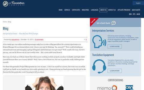 Blog | U.S. Translation Company