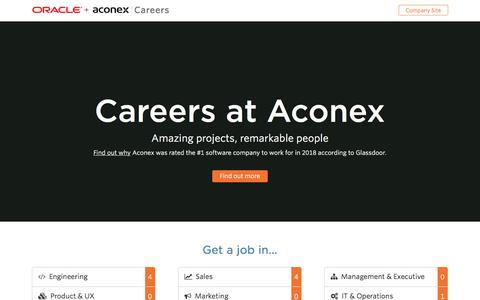 Aconex   Careers at Aconex