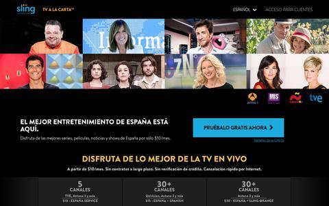 Sling TV – Mira televisión en español en vivo con el proveedor #1 de TV internacional en USA