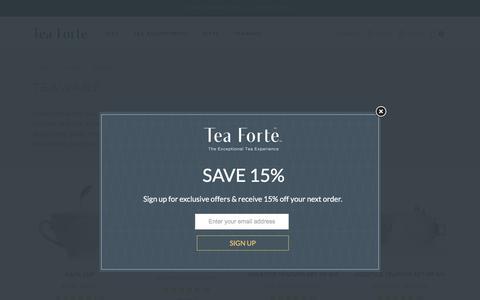 Accessories - Original Teaware by Tea Forté