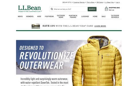 L.L.Bean: FREE Shipping. 100% Satisfaction Guaranteed.