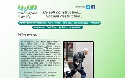 Screenshot of About Page fpfl.org.uk - FPFL - captured Oct. 1, 2014