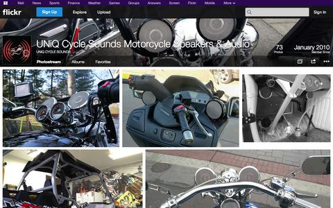 Screenshot of Flickr Page flickr.com - Flickr: UNiQ CYCLE SOUNDS' Photostream - captured Oct. 23, 2014