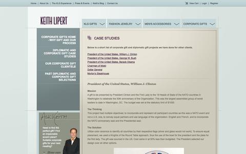 Screenshot of Case Studies Page keithlipert.com - Case Studies - Keith Lipert Gallery - captured Oct. 6, 2014
