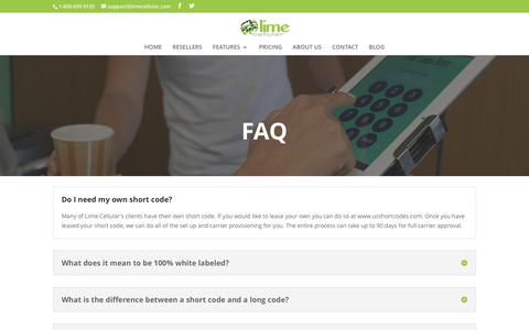 FAQ | Lime Cellular