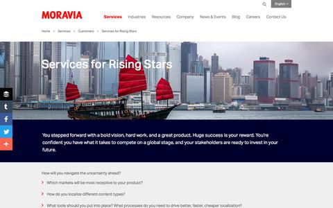 Services for Rising Stars - Moravia