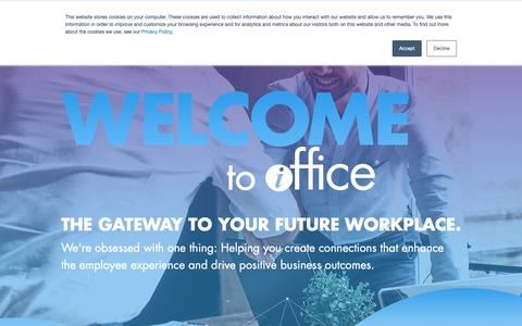 Screenshot of Team Page iofficecorp.com - The iOFFICE Team - Leading Innovation in the Workplace | iOFFICE - captured Feb. 12, 2019