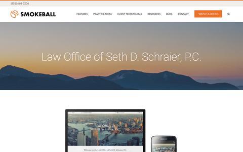 Law Office of Seth D. Schraier, P.C. - Smokeball
