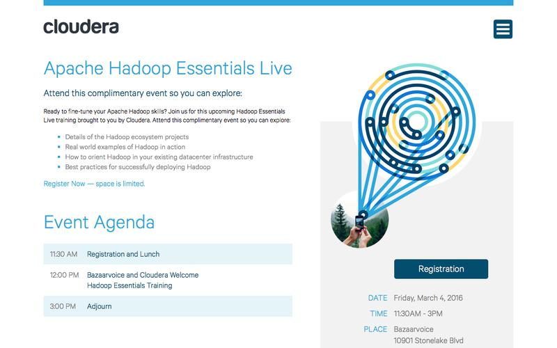 Hadoop Essentials Live Registration