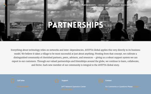 Partnerships – AVETTA Global