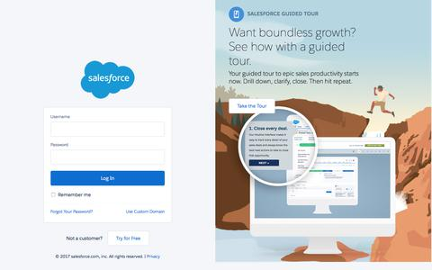 Login | Salesforce