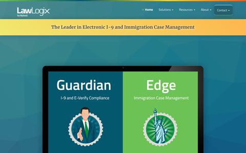 LawLogix | I-9, E-Verify & immigration Case Management Software