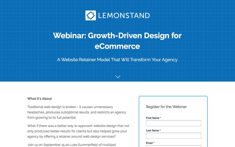 Growth-Driven Design for eCommerce