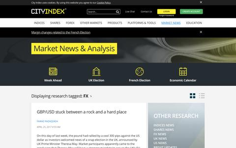 Financial Trading Market News | Economic Indicators | Forex News | City Index