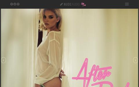 Screenshot of About Page nudeaudio.com - Nude Audio Afterdark | After 22pm... - captured July 8, 2016
