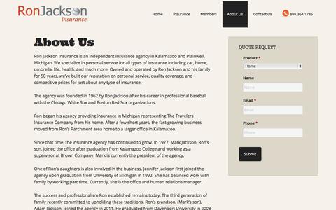 About Us | Ron Jackson Insurance Agency of Kalamazoo Michigan