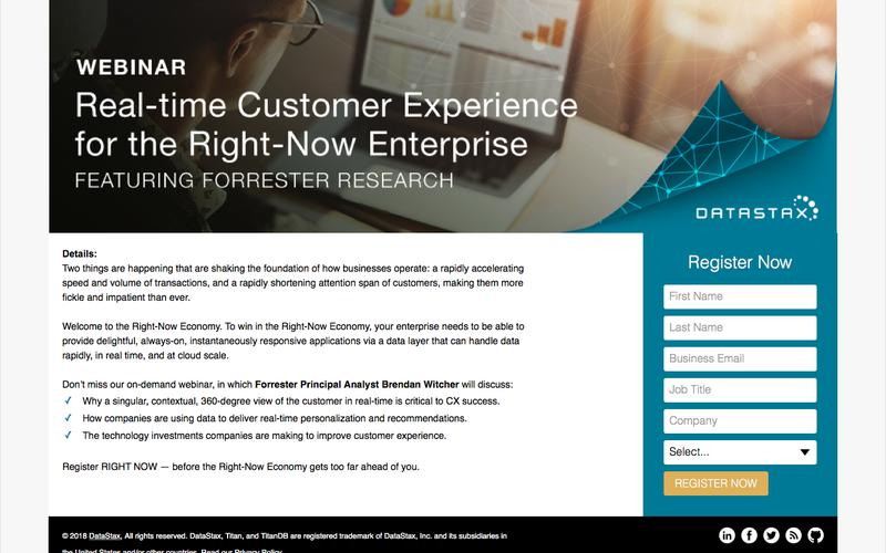 Featuring Forrester: Real-Time Customer Experience for the Right-Now Enterprise