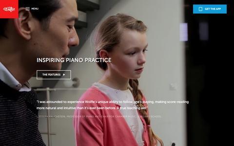 Screenshot of Maps & Directions Page tonara.com - Wolfie for piano app - Tonara and Wolfie for Piano - captured Feb. 4, 2016