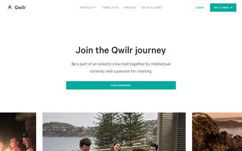 Jobs at Qwilr