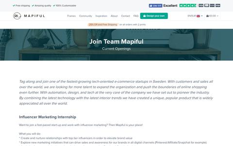 Screenshot of Jobs Page mapiful.com - Careers - Mapiful - captured Oct. 9, 2019