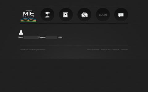 Screenshot of Login Page mte-media.com - login  |  MTE   Media, Marketing Through Education | Education based marketing in multiple languages, Forex, Binary Options - captured Sept. 23, 2014