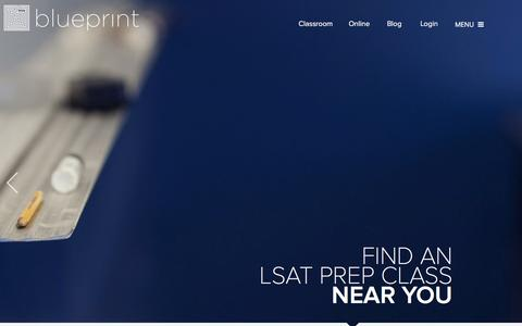 Screenshot of Locations Page blueprintlsat.com - Blueprint LSAT Prep: Classroom LSAT Prep Courses Throughout the Country - captured Feb. 7, 2016