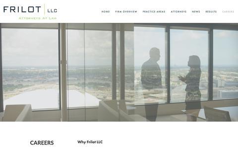 Screenshot of Jobs Page frilot.com - Why Frilot LLC — Frilot LLC - captured Oct. 11, 2018